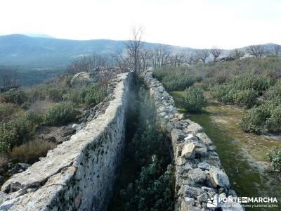 Chorranca, Moño Tía Andréa; rutas por las hoces del duraton parque natural de madrid cuenca sende